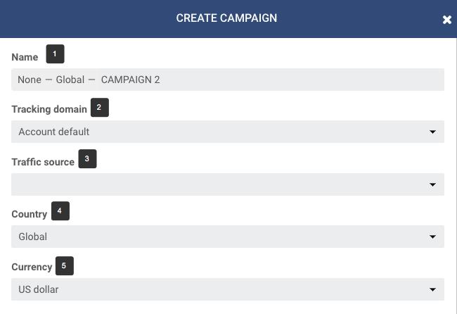 Campaign settings