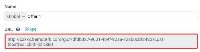 Offer URL